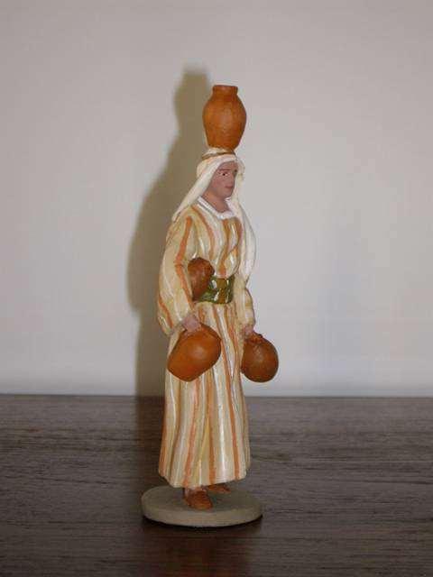 TULA - pastora con cántaros - 11 cms - 2008